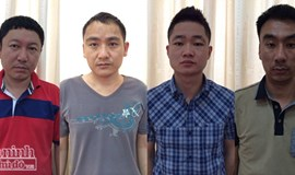 Four Chinese arrested for taxi fare fraud