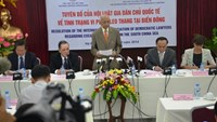 NGO calls on China to stop escalating tensions in East Sea