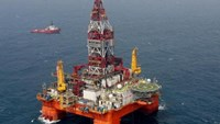 The US$1-billion Haiyang Shiyou-981 oil rig that China illegally placed in Vietnamese waters early May. Photo credit: News.cn