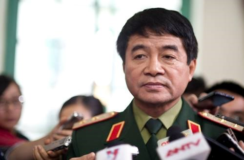 Lieutenant-general Vo Van Tuan, deputy chief of staff of Vietnam People's Army