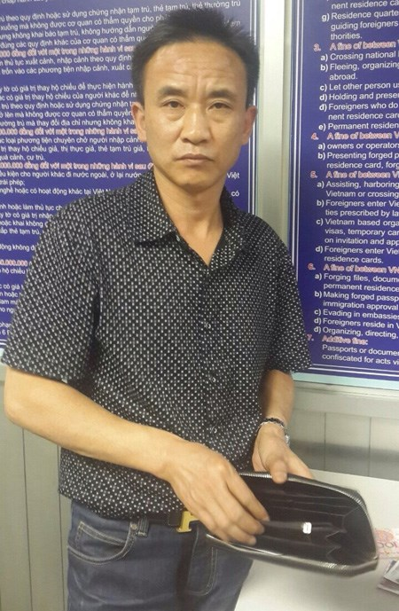 Another Chinese caught robbing Vietnam Airlines passengers