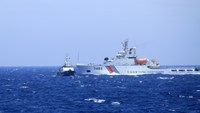 A China Coast Guard ship on Vietnamese waters. Photo credit: VnExpress
