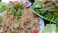 Raw fish salad, a Phu Quoc delicacy