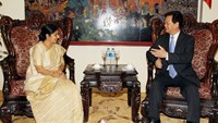 Indian FM wants Vietnam to be India's security-defense partner