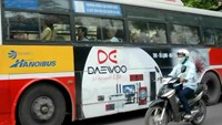 HCMC urged to allow ads on public buses, again