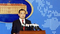 Ministry of Foreign Affairs Spokesman Le Hai Binh. Photo credit: Vietnam News Agency