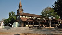 Kon Tum's wooden church makes Central Highlands worth a visit