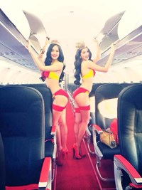 In wake of criticism, Vietnam low-cost carrier says viral bikini photos not official