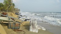 Hoi An beach resorts affected by erosion