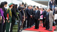 Vietnam PM arrives in Belgium, begins European visit