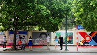 German embassy opens to street artists to commemorate fall of Berlin Wall