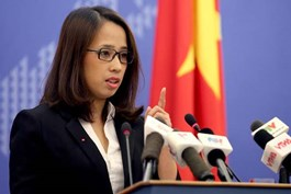Ministry of Foreign Affairs spokesperson Pham Thu Hang
