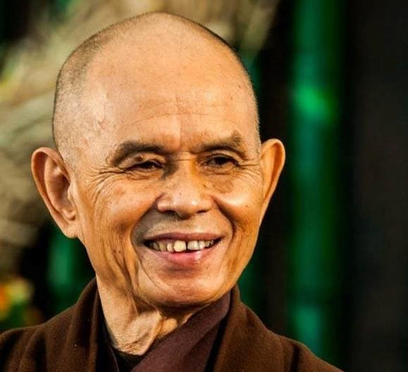 Zen Master Thich Nhat Hanh in a file photo