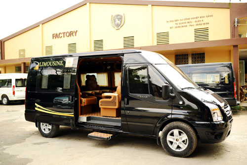 Luxury Van Service To Link Hcmc And Vung Tau Travel