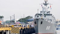 Vietnamese warships make first-ever port call to Philippines