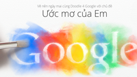 Vietnamese children invited to draw their dreams for Google