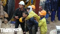 12 workers brought to safety after being trapped in Vietnam collapsed tunnel