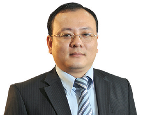 Nguyen Van Hoan, deputy general director of OceanBank, in a file photo