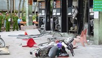 Filling station blast injures 3 in Vietnam province