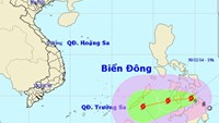 Storm Jangmi may move into Vietnam's East Sea