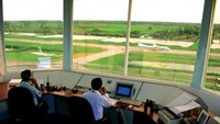 Air traffic controllers fined for letting aircraft fly too closely