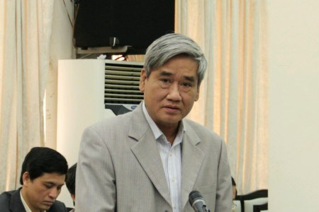 Nguyen Huu Thang, head of Vietnam Railway Authority, in a file photo