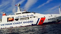 A Vietnam Coast Guard vessel. Photo credit: Vietnamnet