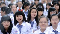 Students at an opening ceremony of a high school in Ho Chi Minh City. Vietnam moves up 7 places in the Global Talent Competitiveness Index, but challenges in formal education remain. File photo