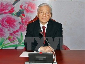 Communist Party chief Nguyen Phu Trong. Photo credit: VNA