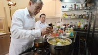 French ambassador cooks traditional beef stew with a Vietnamese twist