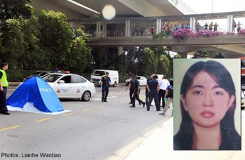 Vietnamese woman believed to have jumped off Singapore overpass