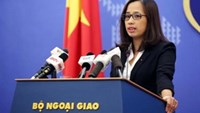 Ministry of Foreign Affairs deputy spokesperson Pham Thu Hang. Photo credit: VNA