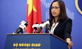 Vietnam opposes China's illegal construction works on Truong Sa