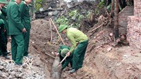 Wartime bomb unearthed in northern Vietnam