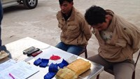 2 Laotians caught smuggling drugs to Vietnam