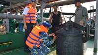Foreign-flagged ship probed for illegal oil trading on Vietnamese waters