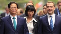 Russian PM visits Vietnam to facilitate free trade pact