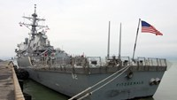 US naval ships arrive in Vietnam for exchange activities