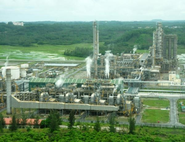The Dung Quat Oil Refinery in Quang Ngai Province. Photo: Dao Ngoc Thach