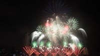 Australian team wins Da Nang fireworks competition