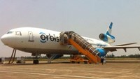 Orbis flying eye hospital provides training in central Vietnam