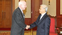 Vietnam's Party chief confirms strengthened ties with US
