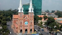 The present-day Saigon Notre Dame Cathedral. Photo: Diep Duc Minh