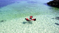 Ly Son's glorious, untouched beaches, crystal clear waters beckon