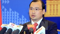 MOFA spokesperson Le Hai Binh. Photo: Vietnam News Agency