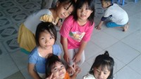 Children at the Hanh Phuc shelter. Photo: H.Vy