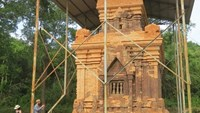 My Son's Cham tower re-opens after 4-year facelift