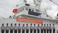 Japan provides 1st of 6 patrol ships to Vietnam