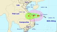 Storm may hit central Vietnam later today