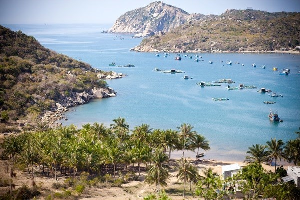 Ninh Thuan is home to beautiful untouched beaches and the Cham temples. Photo: Son Mario
